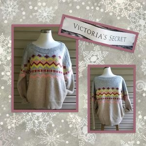 Victoria's Secret chunky sweater with side pockets